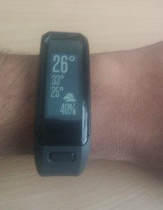 Garmin Vivosmart HR - Weather